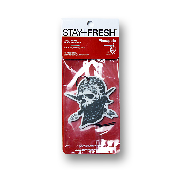 Photo1: STAY FRESH x USUGROW / REBEL INK Air Fresheners (1)