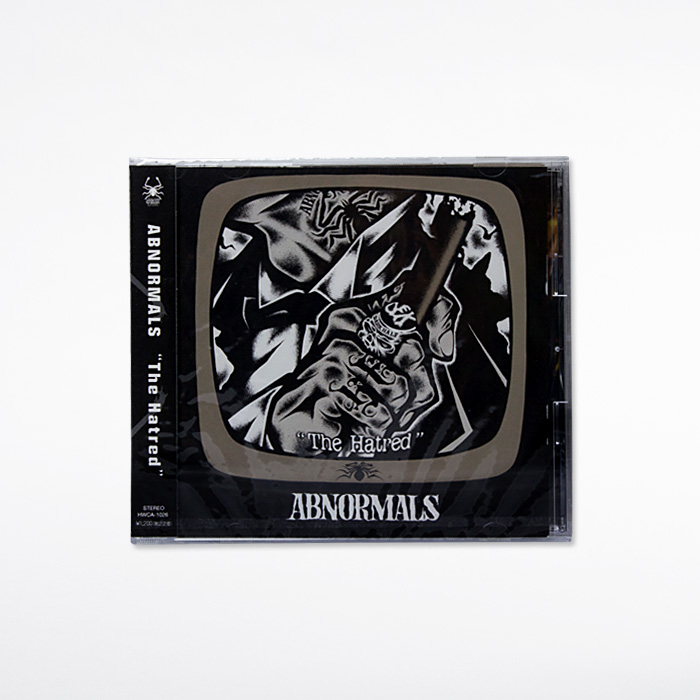 Photo1: ABNORMALS / The Hatred [CD] (1)