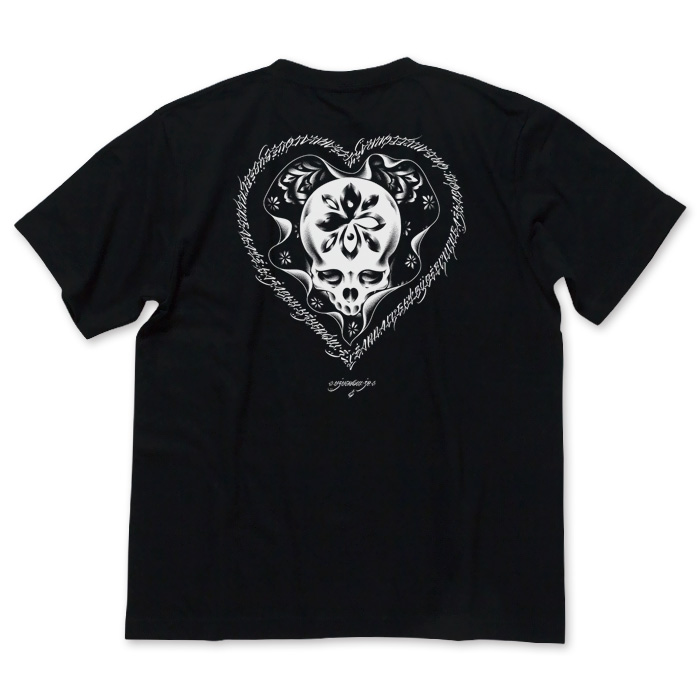 Photo1: USUGROW / HASADHU O/C BLACK TEE (1)