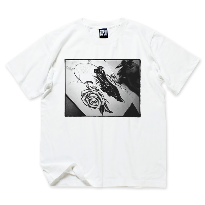Photo1: USUGROW / PROCESS WHITE TEE (1)