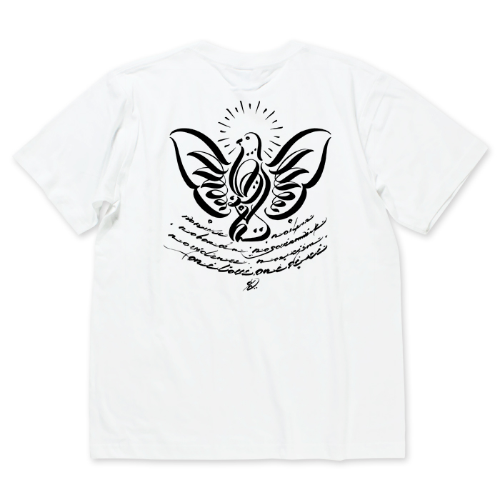 Photo1: USUGROW / P-DOVE WHITE TEE (1)