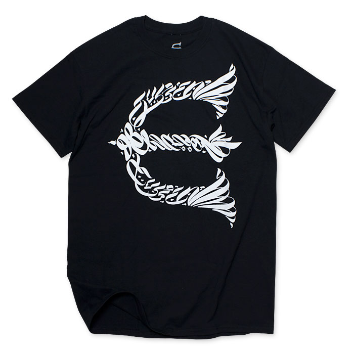 Photo1: Evisen Skateboards ゑ / USUGROW LOVE LETTER BLACK TEE (1)